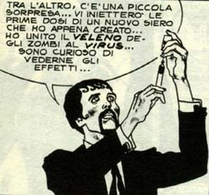 Dylan Dog - Dr. Xabaras is Dylan Dog's worst enemy.