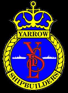 Yarrow Shipbuilders former shipbuilding firm based in Glasgow, Scotland