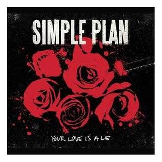 Your Love Is a Lie - Image: Yourloveisaliesingle