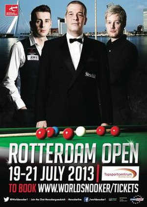 European Tour 2013/2014 – Event 2 - Image: 2013 Rotterdam Open (snooker) poster