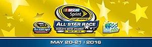 2016 NASCAR Sprint All-Star Race - Image: 2016 NASCAR Sprint All Star Race logo