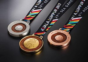 2017 Southeast Asian Games - Kuala Lumpur 2017 medals.