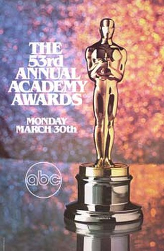 53rd Academy Awards - Image: 53rd Academy Awards