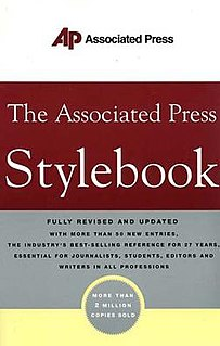 <i>AP Stylebook</i> book by Associated Press
