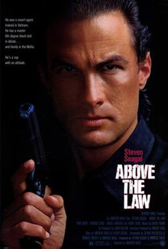 Above the Law (film) - Theatrical release poster