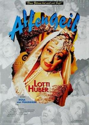 Affengeil - Image: Affengeil film poster