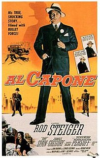 <i>Al Capone</i> (film) 1959 film by Richard Wilson