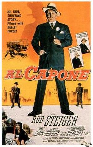 Al Capone (film) - Image: Al Capone (1959 film)