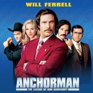 Anchorman: Music from the Motion Picture - Image: Anchorman Soundtrack