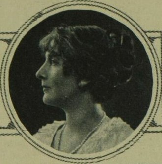 Anna, Lady Barlow - Barlow in 1924