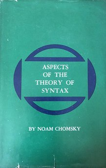 <i>Aspects of the Theory of Syntax</i> book by Noam Chomsky