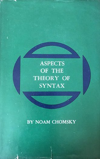 Aspects of the Theory of Syntax - Cover of the first edition