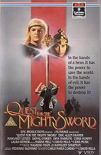 <i>Quest for the Mighty Sword</i> 1990 film by Joe DAmato
