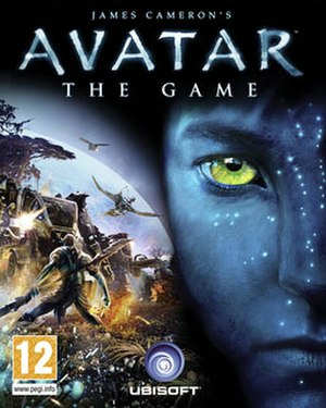 James Cameron's Avatar: The Game - Image: Avatar video game cover