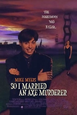 So I Married an Axe Murderer - Theatrical Release Poster