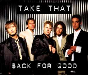 Back for Good (song) - Image: Back for Good cover