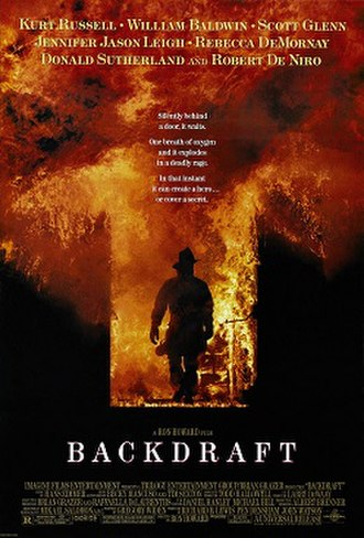 Backdraft (film) - Theatrical release poster