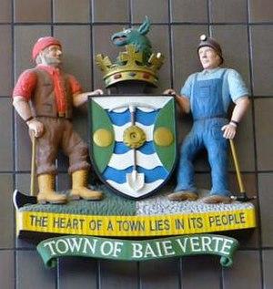 Baie Verte, Newfoundland and Labrador - Image: Baieverte