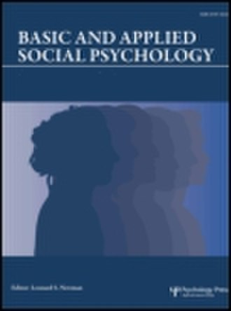 Basic and Applied Social Psychology - Image: Basic and applied social psychology.cover