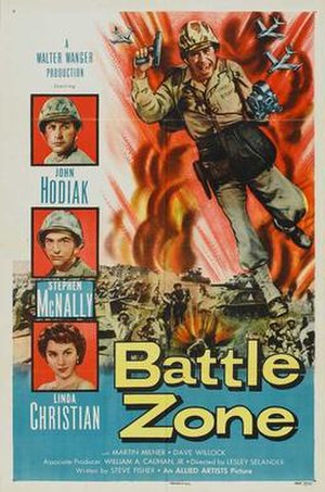 Battle Zone (film) - Image: Batzopos