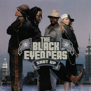 Shut Up (The Black Eyed Peas song) - Image: Black Eyed Peas Shut Up CD cover