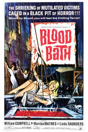 Blood Bath - American theatrical poster