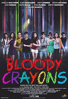 <i>Bloody Crayons</i> 2017 film by Topel Lee