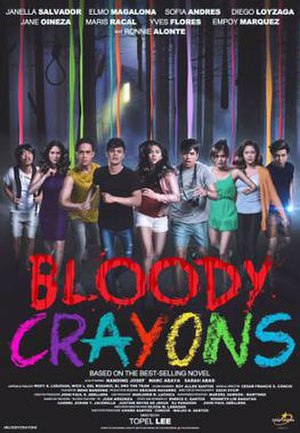 Bloody Crayons - Theatrical release poster