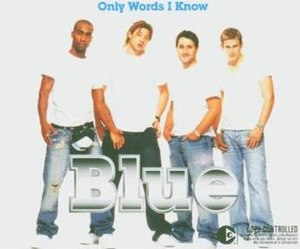 Only Words I Know - Image: Blueonlywordsiknow