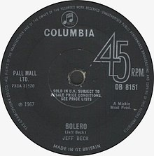 Bolero (Jeff Beck) UK single cover.jpg