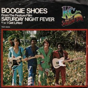 Boogie Shoes - Image: Boogie Shoes KC and the Sunshine Band