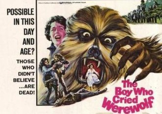 The Boy Who Cried Werewolf (1973 film) - Promotional poster for the film