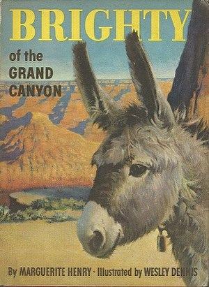 Brighty of the Grand Canyon - First edition