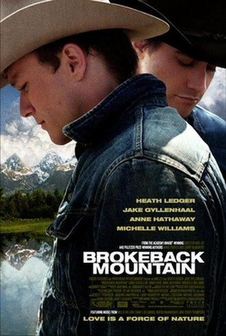 Brokeback Mountain - Theatrical release poster