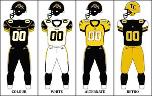 2009 Hamilton Tiger-Cats season - Image: CFL HAM Jersey 2009