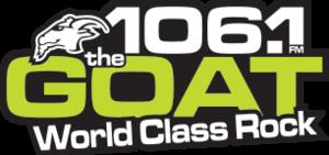 CKLM-FM - Image: CKLM 106.1The Goat logo