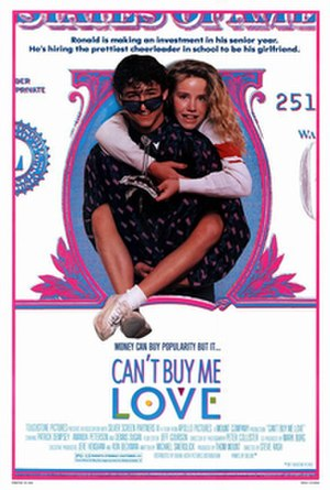 Can't Buy Me Love (film) - Theatrical release poster