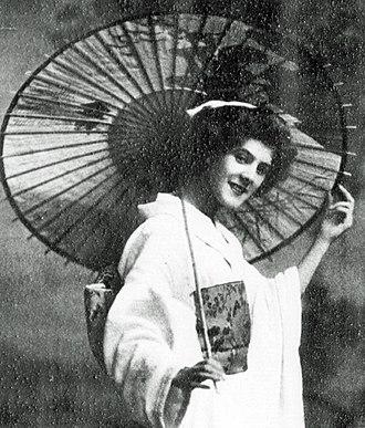 Cicely Courtneidge - Courtneidge in The Mousmé, 1911