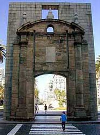 Ciudad Vieja, Montevideo - The Gateway of Ciudadela, was the entrance to the fortress of Montevideo.
