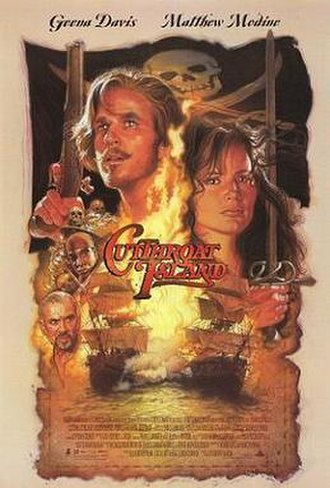 Cutthroat Island - Theatrical release poster