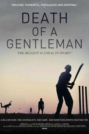 Death of a Gentleman - Image: Death of a Gentleman Official Poster