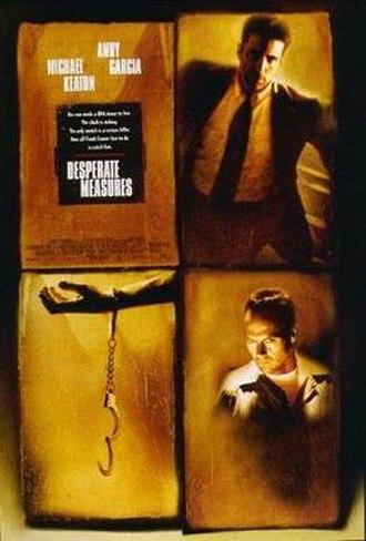 Desperate Measures (film) - Theatrical release poster