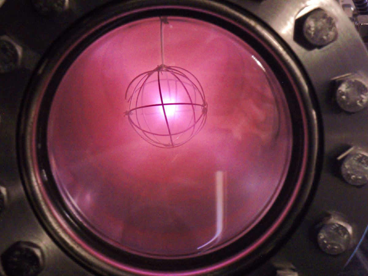 Ionized helium spectrum
