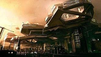 Deus Ex: Human Revolution - Image: Deux Ex Human Revolution Hengsha concept art