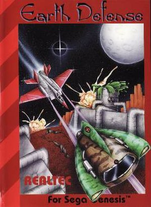 Earth Defense - Cover art of Earth Defense