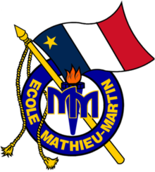Ecole mathieu martin logo