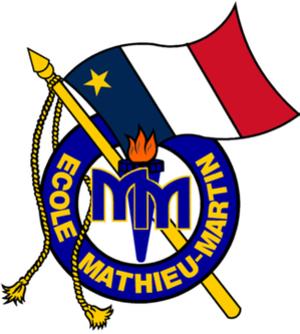 École Mathieu-Martin - Image: Ecole Mathieu Martin logo