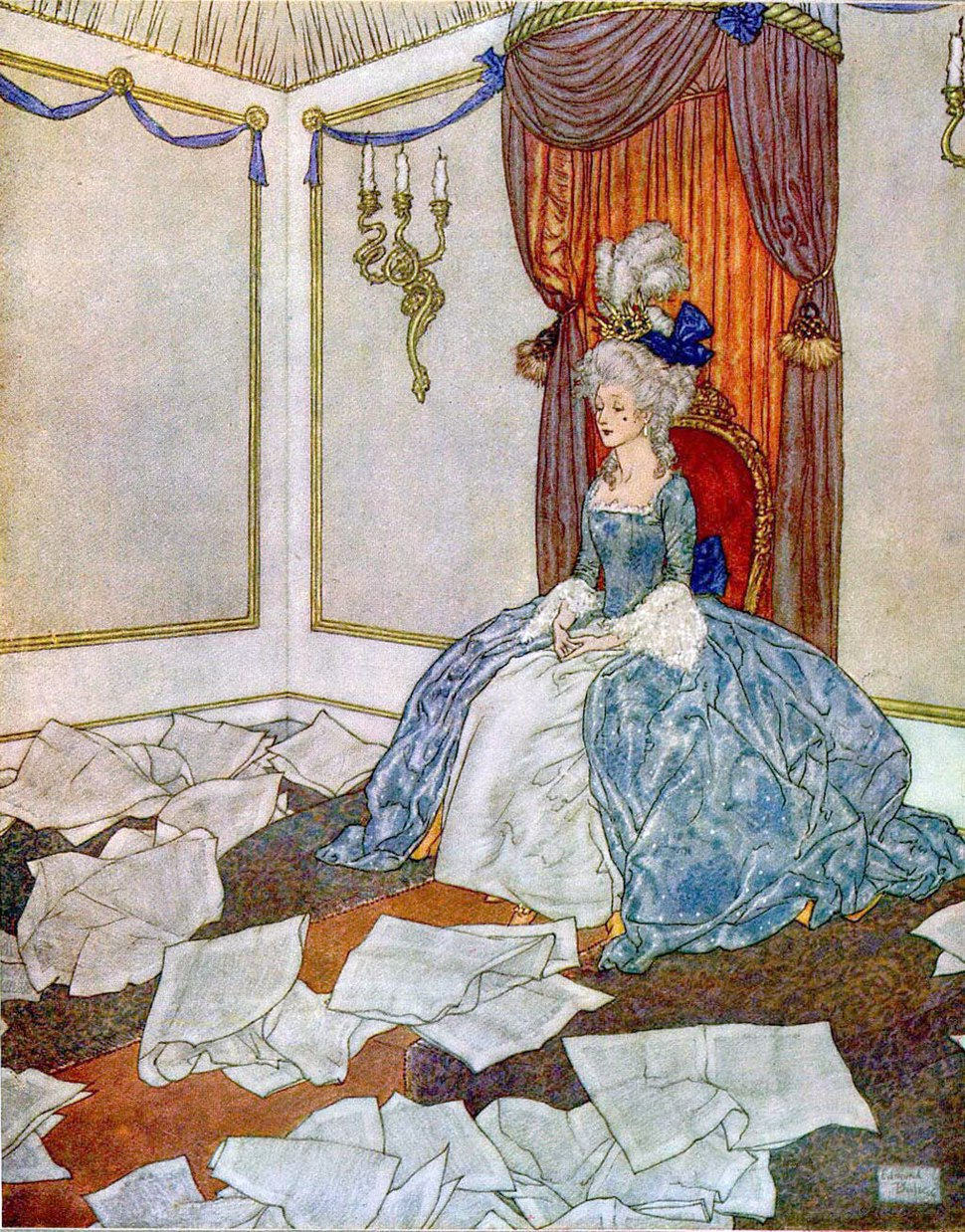 Edmund Dulac - Prince and Princess