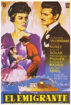 El emigrante (film) - Film poster