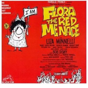 Flora the Red Menace - Cover of Original Cast Recording
